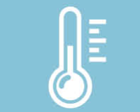Climate: Temperature control by individual thermostat in every office unit.
